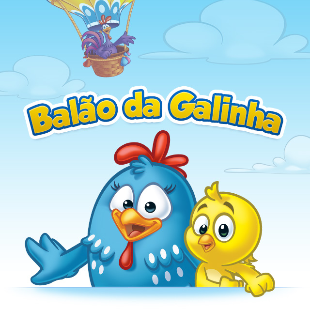 Balao Oficial Galinha Pintadinha