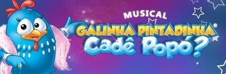 Banner do musical Cadê Popó?