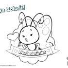 Desenho para colorir - Borboletinha