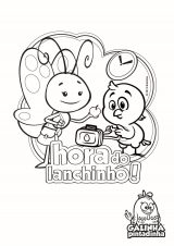 Colorir - Lanchinho