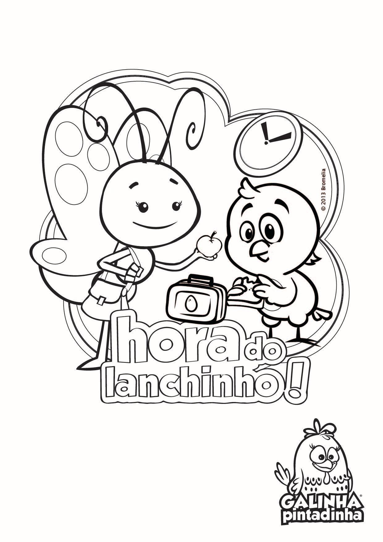 Famosos Desenhos para colorir - Site Oficial da Galinha Pintadinha IS72
