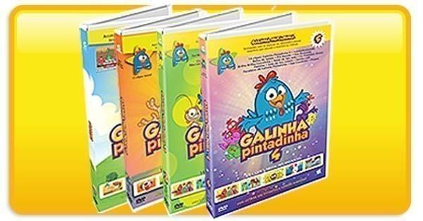 Galinha Pintadinha - DVDs