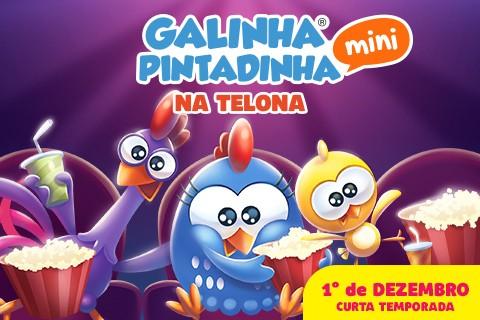 Galinha Pintadinha Mini na Telona: 1º de Dezembro nos cinemas de todo o Brasil