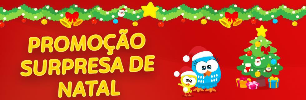 Brinde surpresa de Natal 2019 - Loja Oficial da Galinha Pintadinha